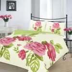 Duvet Cover Set Super King Size superKing With Pillowcases Reversible Quilt Bedding Set Poly Cotton, Isabella Green